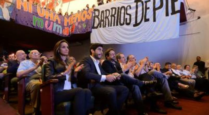Malena y Facundo Moyano en Libres del Sur