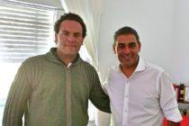 [San Luis] Joaquín Mansilla dialogó con Gastón Hissa de Avanzar San Luis