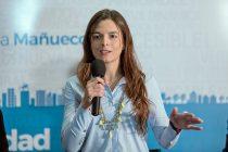 """[Neuquén] María Eugenia Mañueco: """"La seguridad será mi principal ocupación como concejala"""