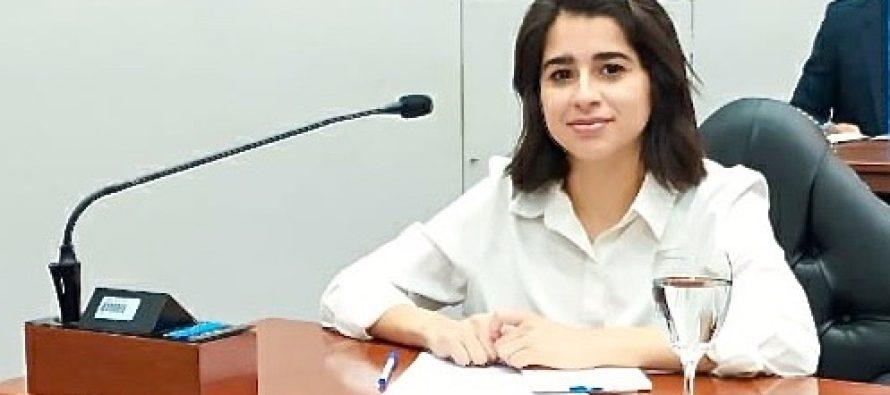 [Santiago del Estero] La concejala Lezama Hid propone retomar las sesiones de manera online.