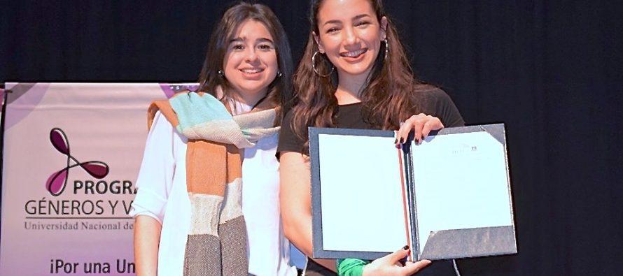 [Santiago del Estero] La Concejala Marianella Lezama Hid con Thelma Fardin