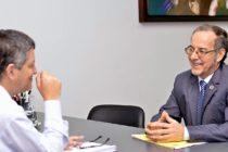 [Chaco] Martínez se reunió con Farías por temas de la agenda  educativa