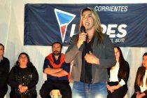 """[Corrientes] Maru Soberon: """"En 'Avancemos' nos dedicamos a trabajar para y por los mas vulnerados"""""""