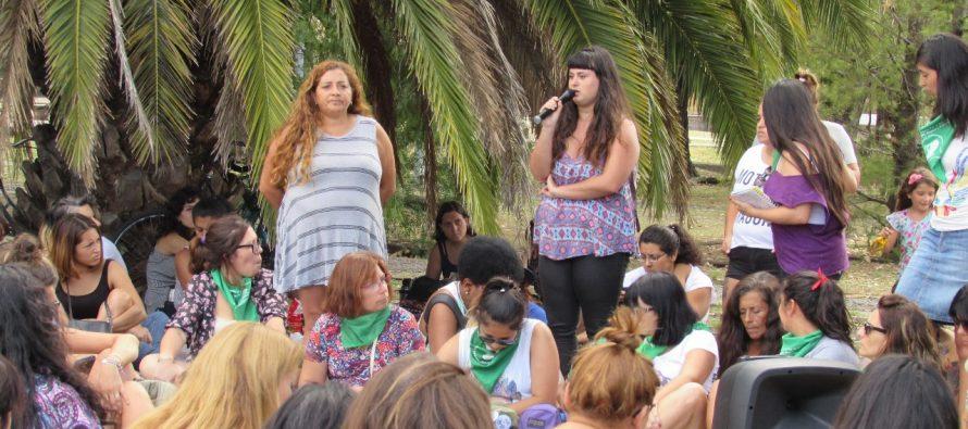[Lanús] Melina D'Amico en la Asamblea Feminista de la UNLa