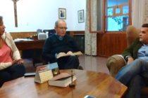 [Neuquén] Daniel Menendez se reunio con el obispo Virginio Bressanelli