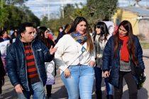 [Tucumán] Milsa Barros visitó la localidad de El Chañar