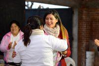 [Tucumán] Milsa Barros visitó la localidad de Colombres, en el este provincial.