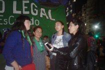 """[Lanús] """"Es justicia social que el congreso apruebe la legalización del aborto"""""""