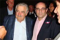 Humberto Tumini y Pepe Mujica. Por J. Escobar