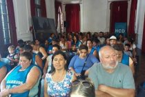 [Pergamino] Barrios de Pie volvió a reclamar la Emergencia Alimentaria en la sesión del Concejo Deliberante