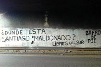 [La Matanza] Pintadas por Santiago Maldonado