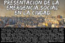 [CABA] Organizaciones sociales exigen declarar emergencia social