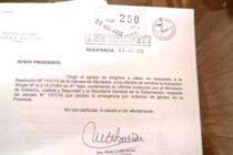 """[Chaco] Martínez: """"los funcionarios de Capitanich son hijos del rigor"""""""