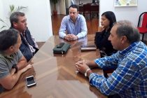 [Bs. As.] Reunion con el Intendente Francisco Rato de S. A. de Areco.