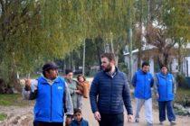 [Mar del Plata] Rodrigo Blanco en Barrio Parque Palermo y denunció crisis habitacional y de infraestructura