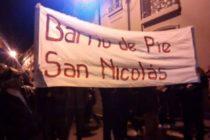 [San Nicolás] Barrios de Pie, Marchó contra el tarifazo