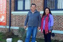 [Pergamino] Schierloh, visitó la localidad de Alfonzo y convocó a los vecinos.