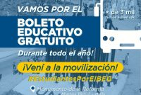 [Córdoba] Estudiantes reclaman por recortes en el Boleto Educativo Gratuito