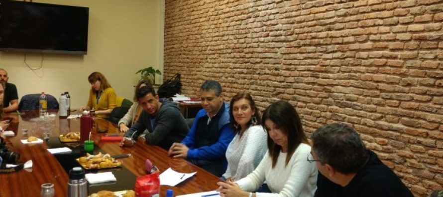 [CABA] Tombolini, Velasco y Abrevaya en mateada con docentes