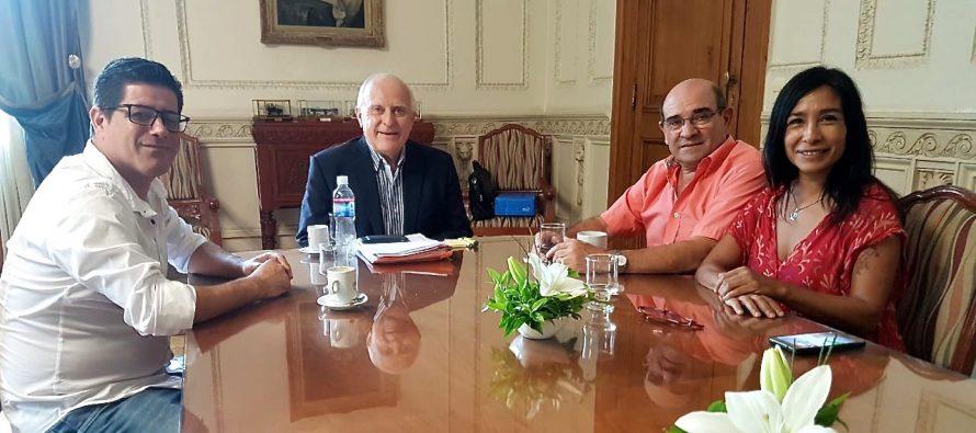 Humberto Tumini se reunió con el Gobernador Miguel Lifschitz.