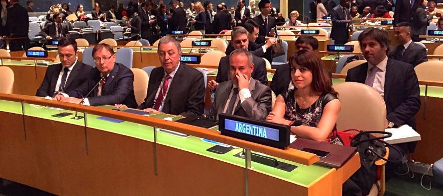 Victoria Donda en la Asamblea General de Naciones Unidas sobre el Problema Mundial de las Drogas