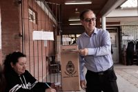 """[Chaco] Martínez: """"pensar en la gente y votar una sola vez cada cuatro años"""""""