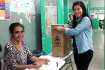 [Chaco] Votó Nancy Sotelo, candidata a concejal en Vamos Chaco
