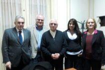 Reunión con Monseñor Lozano por la agenda social