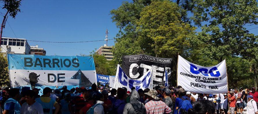 [Chaco] Barrios de Pie marchará mañana contra las reformas del Gobierno de Macri