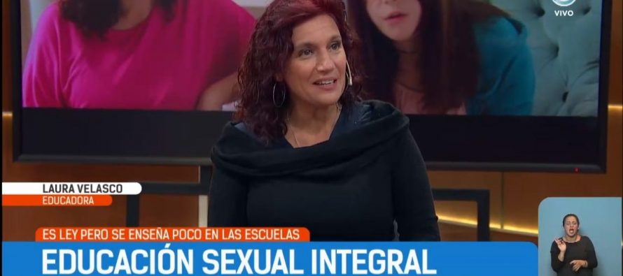 Laura Velasco habla sobre Educación Sexual Integral en la Tv Pública