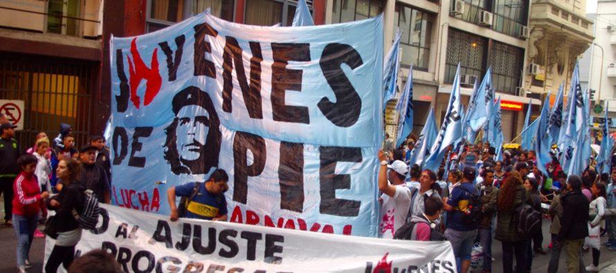 [CABA] Organizaciones juveniles le acampan a Piter Robledo