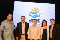 Ceballos, Arroyo, Solá, Tundis, Menéndez. Compromiso con la Agenda Social