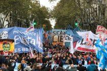 [CABA] Camino a la unidad política: Multitudinario acto contra el acuerdo con el FMI