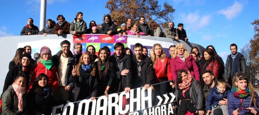 """[La Plata] Se lanzó en la ciudad el frente """"En Marcha"""""""