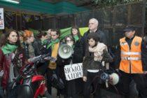 Ayer nos movilizamos para exigir la pronta liberación de Belén