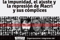 24/3 Unidad contra la impunidad el ajuste y la represión