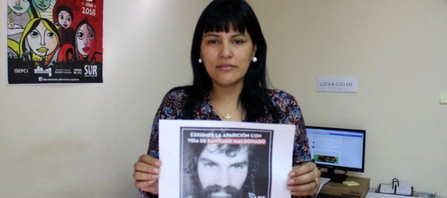 [San Isidro] Aparición con vida de Santiago Maldonado