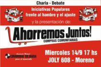 [Moreno] Presentan Ahorremos Juntos – Compras Comunitarias