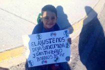 [Neuquén] Ante la ausencia del gobierno provincial Barrios de Pie se moviliza a los hipermercados