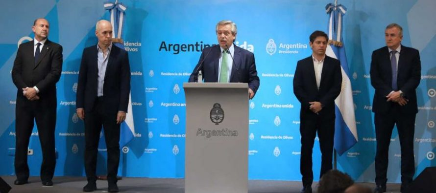Pandemia: ¿se termina la grieta en Argentina? Por J. Ceballos.