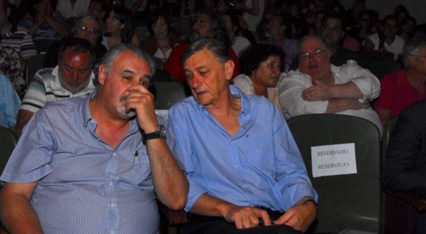 Alferdo Lazeretti y Hermes Binner