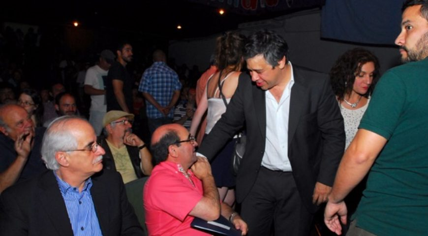 Sergio Abrevaya saluda a Humberto Tumini
