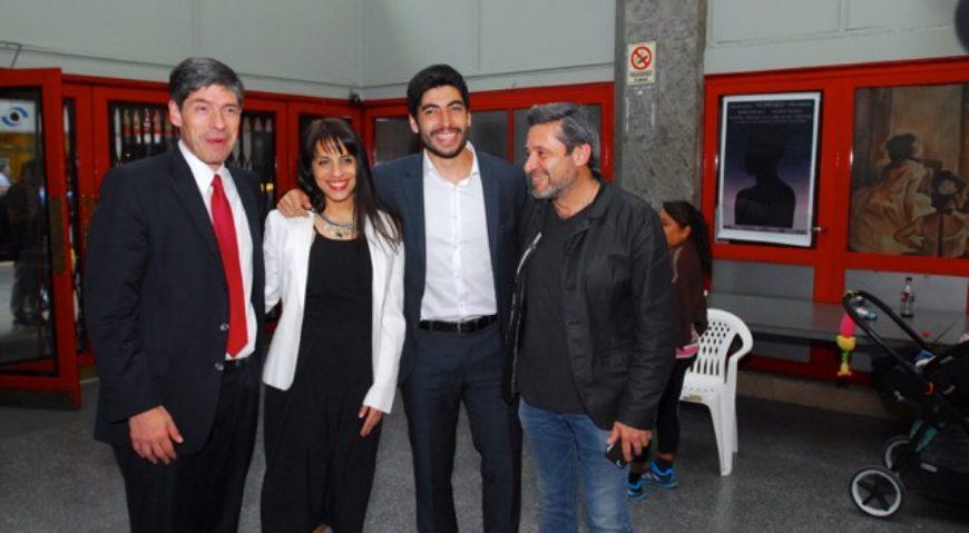 Abal Medina, Victoria Donda, Facundo Moyano y Victor Santamarina