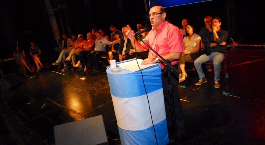Humberto Tumini, secretario general de Libres del Sur