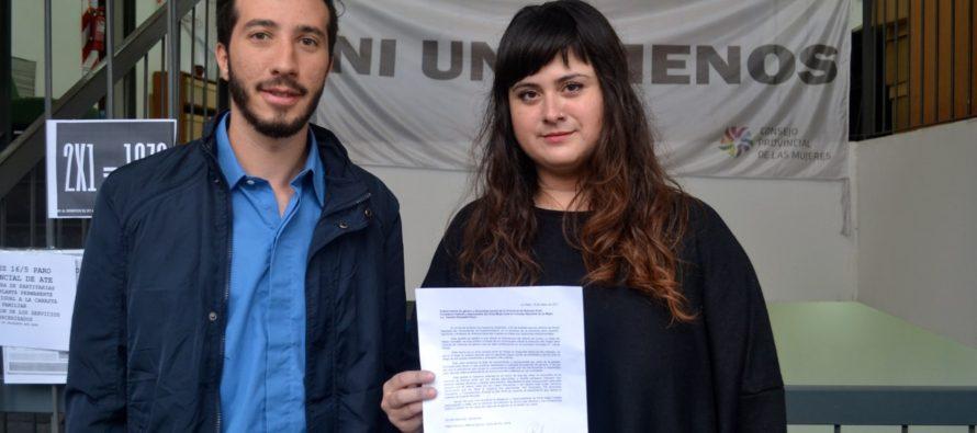 [Lanús] D'Amico y Arburua presentaron su preocupación por las políticas de género