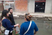 """[Lanús] Arburúa: """"Tres cuadras separaban el helicóptero de Macri y Grindetti de los vecinos inundados"""""""