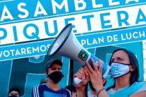 Barrios de Pie participará de asamblea piquetera en Obelisco.
