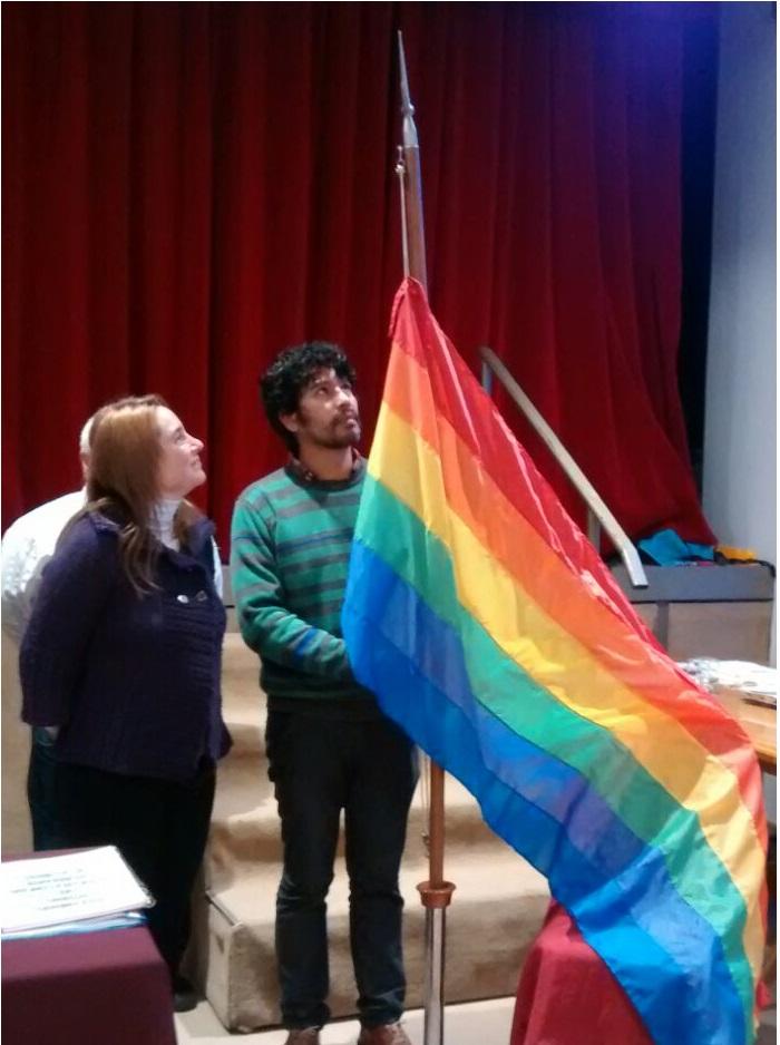 bandera diversidad las heras