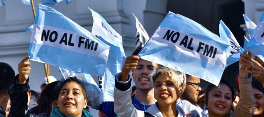 Barrios de Pie propone consulta popular para discutir acuerdo con el FMI