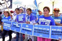 Barrios de Pie salió a pedir donaciones a los supermercados y mayoristas. Crónicas, fotos y rebotes de prensa.